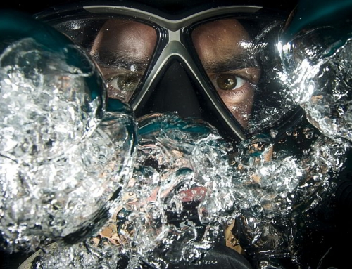 Chris Elliott's final PADI Rescue Diver training