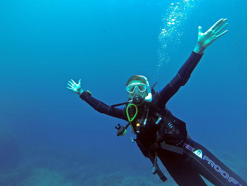 Open Water Diver Certification License