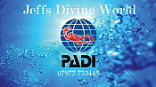 Jeffs Diving World Logo