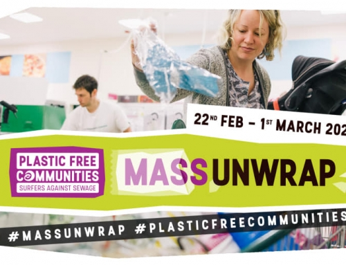 Mass Unwrap Plastic Awareness Sainsburys