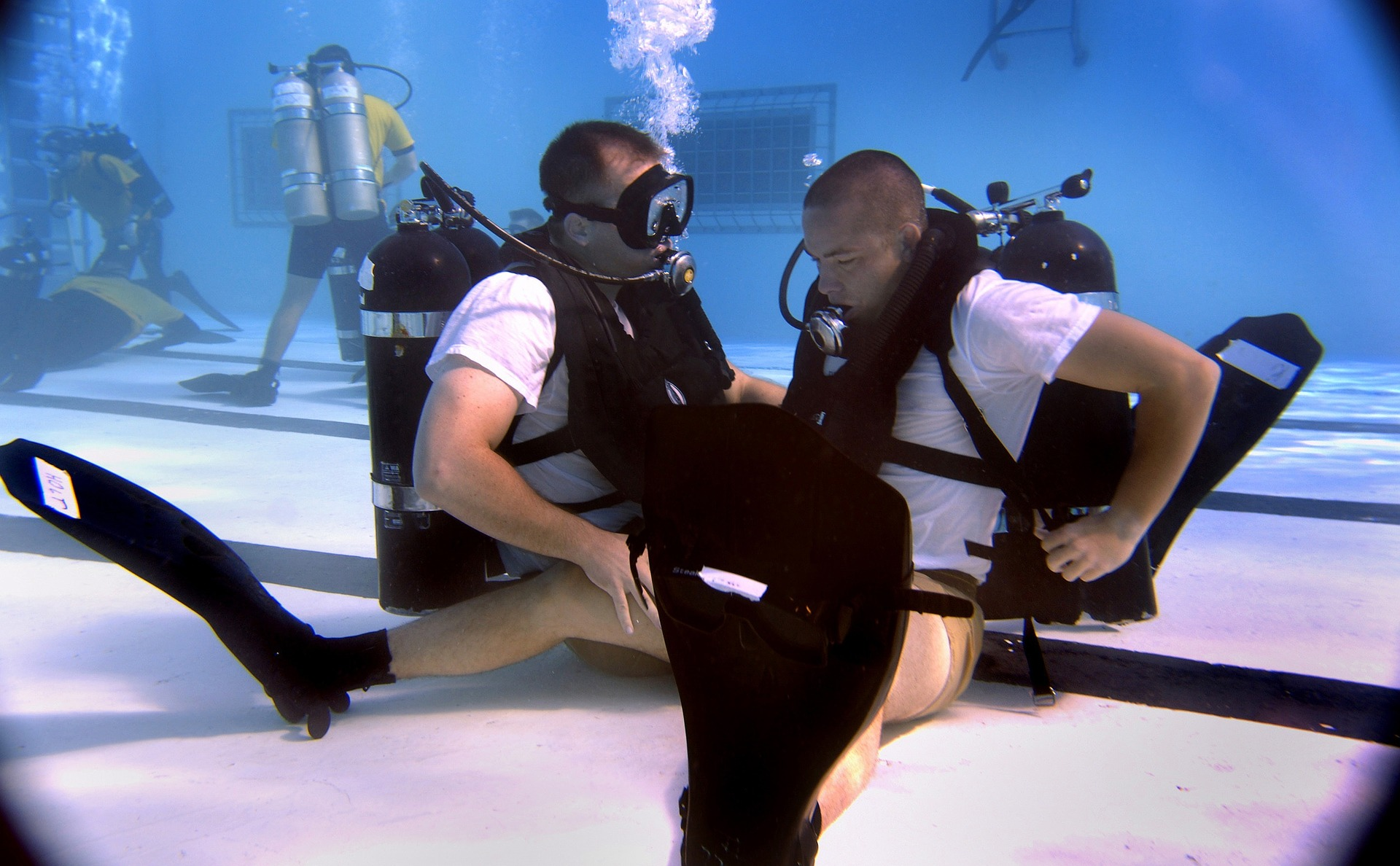 Free Try Diving Classes 2021