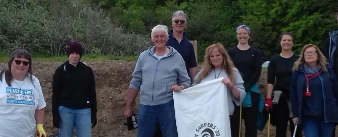 Beach Clean Up Members